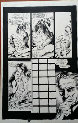 Vengeance of Vampirella #12,  page 13 - original comic art - 1995