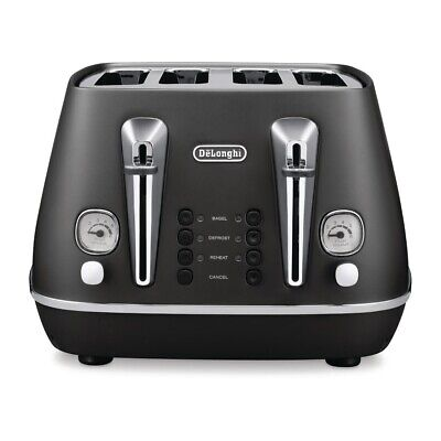 Delonghi Distinta Toaster Black CTI4003BK (Next working day UK Delivery)