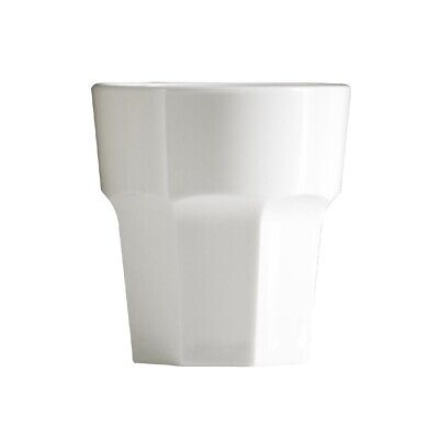 BBP Polycarbonate Rocks Tumbler 256ml White (Pack of 36) (Next working day to UK