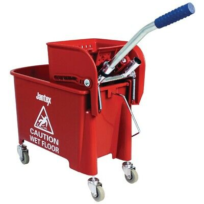 Jantex Kentucky Mop Bucket  Red (Next working day UK Delivery)
