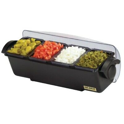 San Jamar Condiment Dispenser 4 Tray (Next working day UK Delivery)