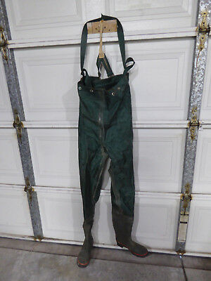 Waders Chest High.....steel Shank Boots Size 7