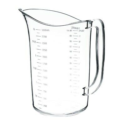 Vogue Polycarbonate Measuring Jug 3L (Next working day UK Delivery)