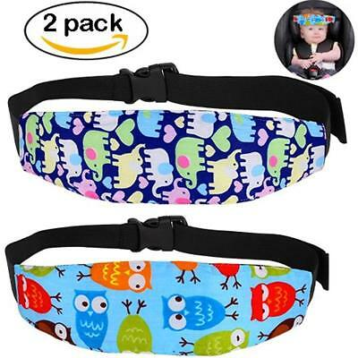 2 Pcs Infants Baby Head Support, Safety Car Seat Neck Relief, Offers Protection
