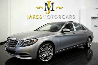2016 Mercedes-Benz S-Class Maybach S600 ($200,485 MSRP!)**EXECUTIVE SEATING** 2016 MAYBACH S600~$200,485 MSRP!~ SPECIAL ORDERED MATTE GREY ~ ONLY 2900 MILES!