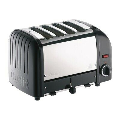Dualit 4 Slice Vario Toaster Black 40344 (Next working day UK Delivery)
