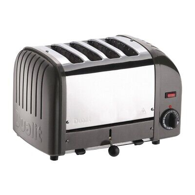 Dualit 4 Slice Vario Toaster Charcoal 40348 (Next working day UK Delivery)