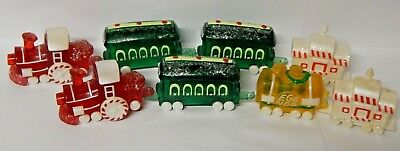 Hallmark Merry Miniature Christmas Train Figurine Lot Sweet Express 1988 1990