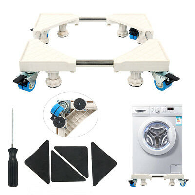 Movable  Bracket Stand Undercarriage Wheels For Washing Machine Refrigerator