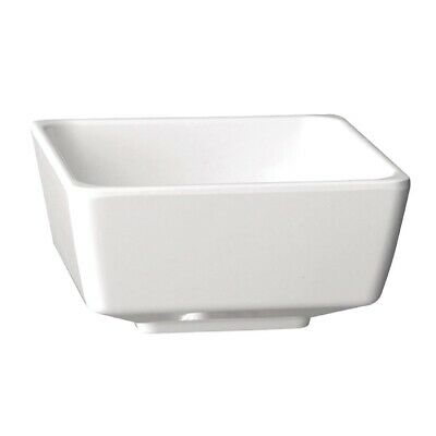 APS Float White Square Bowl 10in (Next working day UK Delivery)