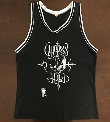 Rare Vintage 90's Authentic GEM Cypress Hill Temple of Boom Basketball Jersey