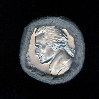 1968-S Obw  Bank Wrapped Roll Bu Uncirculated Jefferson Nickels ..