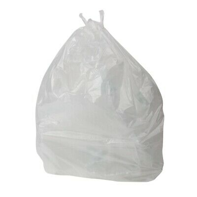 Jantex Pedal Bin Liners White 10 Litre Pack of 1000 (Pack of 1000)