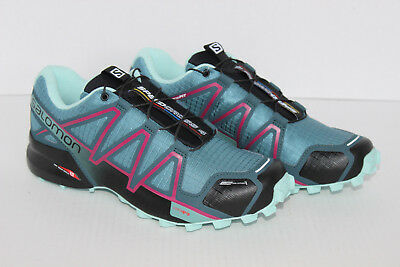 SALOMON WOMEN'S SPEEDCROSS 4 CS W Trail Running Shoes US 8