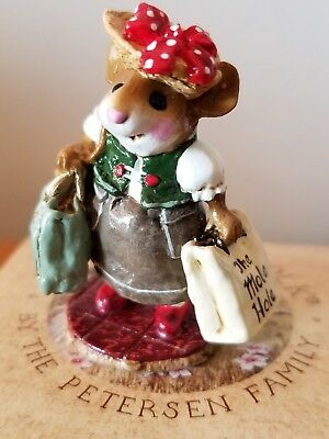 Wee Forest Folk M-264 Mall Mom MOLE HOLE SPECIAL 2002 Mint