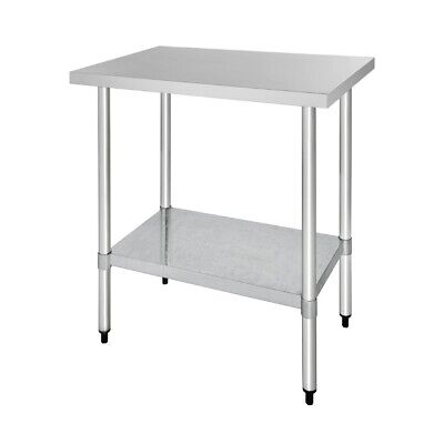 Vogue Stainless Steel Prep Table 900mm (Next working day UK Delivery)