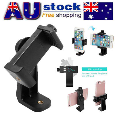 Universal Stand Clip Bracket Holder Tripod Mount Adapter for Camera Mobile Phone
