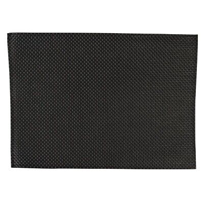 APS PVC Placemat Black (Pack of 6) (Next working day UK Delivery)