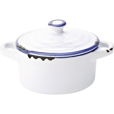 Utopia Avebury Blue Mini Casserole Dish 105mm (Pack of 12)