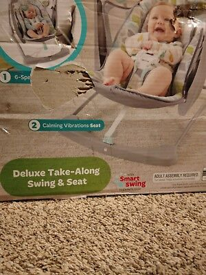 26df08a01 FISHER-PRICE DELUXE TAKE-ALONG Swing   Seat -  86.52