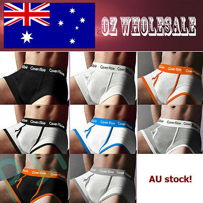 8 PCs New Mens Men's Man Cotton Underwear CK2014V Boxer Trunk Undies Brief