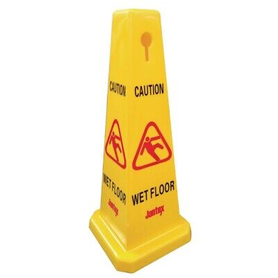 Jantex Cone Wet Floor Safety Sign (Next working day UK Delivery)