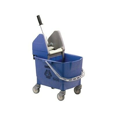 Rubbermaid Kentucky Mop Bucket  Blue (Next working day UK Delivery)