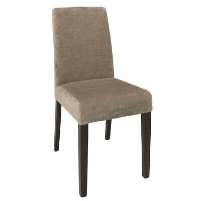 Bolero Dining Chairs Beige (pack of 2) (Next working day to UK)