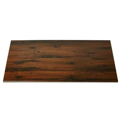 Werzalit Rectangular Table Top Antique Oak 1100mm (Next working day UK Delivery)