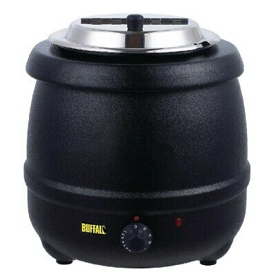 Buffalo Black Soup Kettle (Next working day UK Delivery)