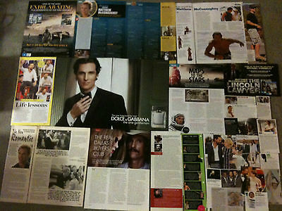 MATTHEW McCONAUGHEY - Over 20 clippings