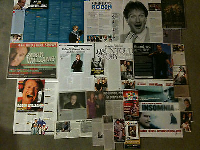 ROBIN WILLIAMS - Over 20 clippings