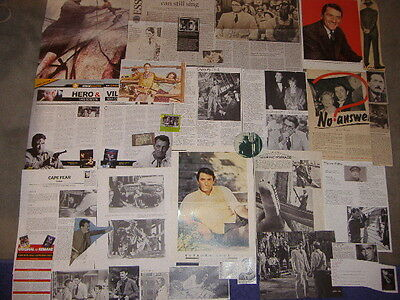 GREGORY PECK - Over 30 clippings