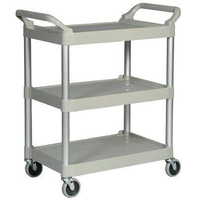 Rubbermaid Compact Utility Trolley White (Next working day UK Delivery)