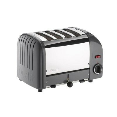 Dualit 4 Slice Vario Toaster Cobble Grey 40514 (Next working day UK Delivery)
