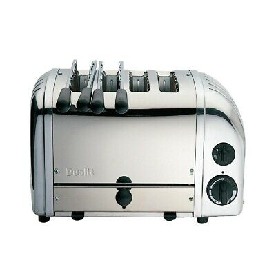 Dualit 2 x 2 Combi Vario 4 Slice Toaster Stainless 42174 (Next working day to UK