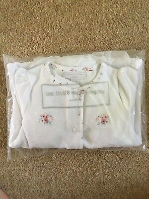 little white company sleepsuit 3-6 Months
