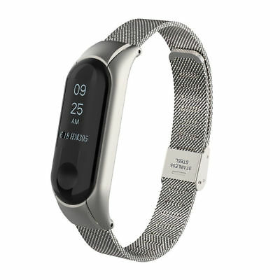 For Xiaomi Mi Band 3 Wristband Milanese Stainless Steel Luxury Strap Bracelet