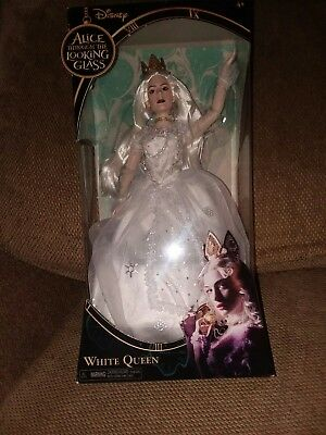 """Disney""""s ALiCE THROUGH THE LOOKiNG GLASS White Queen doll"""