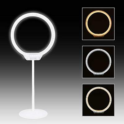 LED Ring Light Tabletop Desktop Beauty LED Light for Youtube Video Make up Photo