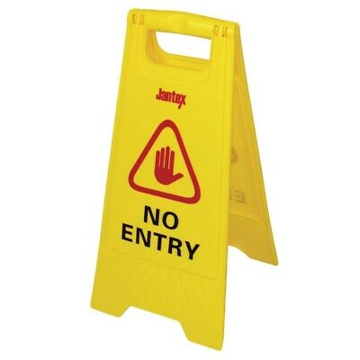 Jantex No Entry Safety Sign (Next working day UK Delivery)