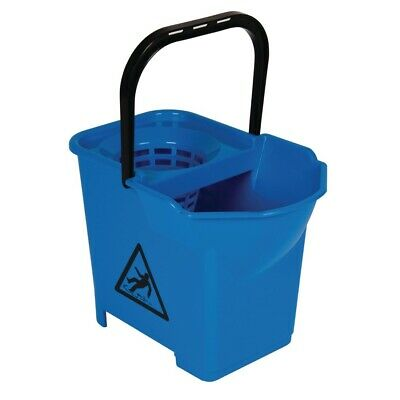 Jantex Colour Coded Mop Bucket Blue (Next working day UK Delivery)