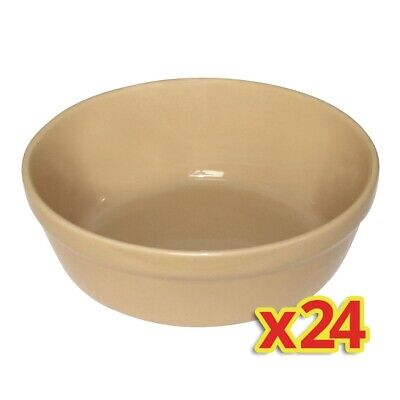 Special Offer - Olympia Round Earthenware Pie Bowls x24 (Pack of 24)
