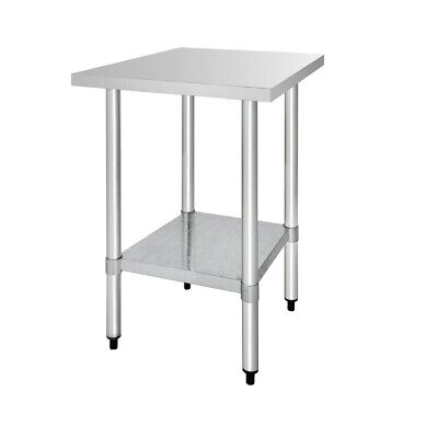 Vogue Stainless Steel Prep Table 600mm (Next working day UK Delivery)
