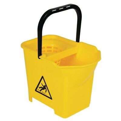 Jantex Colour Coded Mop Bucket Yellow (Next working day UK Delivery)