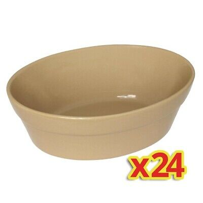 Special Offer - 4x Box of 6 Olympia Oval Pie Bowls Large (Pack of 24)