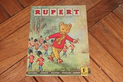 RUPERT ADVENTURE BOOK no. 50.  RARE.  EXCELLENT. UNMARKED. COMPLETE.