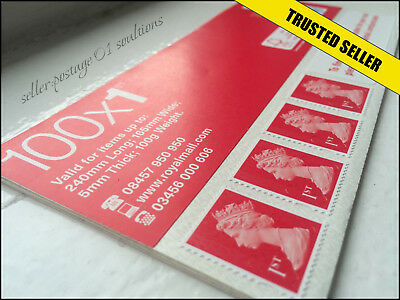 1st Class Stamps 100 New GENUINE CONVENIENCE Self Adhesive First Postage VALUE