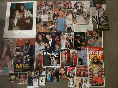 JARED LETO - Over 20 clippings