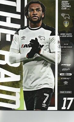 Derby County v Leeds United 2017-2018